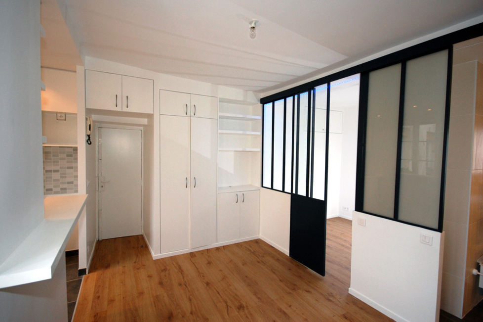 Am nagement int rieur d 39 un 26 m for Amenagement cuisine petite surface