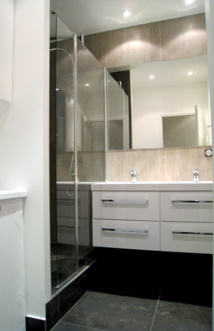 R nover la salle de bains toutes les astuces - Quel sol pour une salle de bain ...