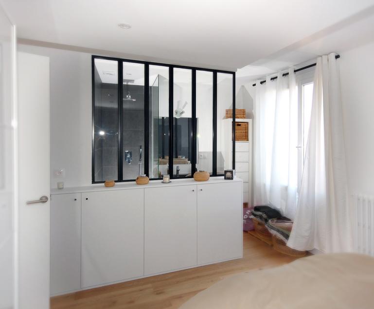 Des combles et une terrasse - Chambre avec salle d eau ouverte ...