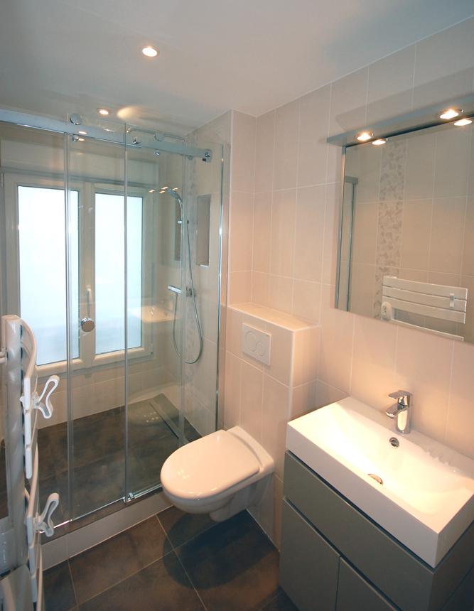 installer une douche dans une chambre 7 m pour installer