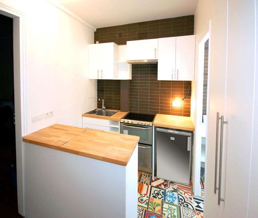 cuisine et salle d 39 eau r organis es. Black Bedroom Furniture Sets. Home Design Ideas