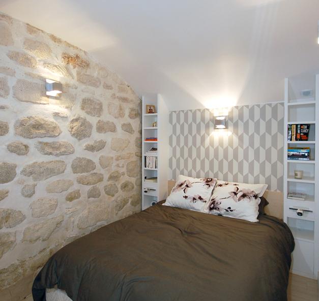 un 50 m agrandi en souplex de 60 m. Black Bedroom Furniture Sets. Home Design Ideas