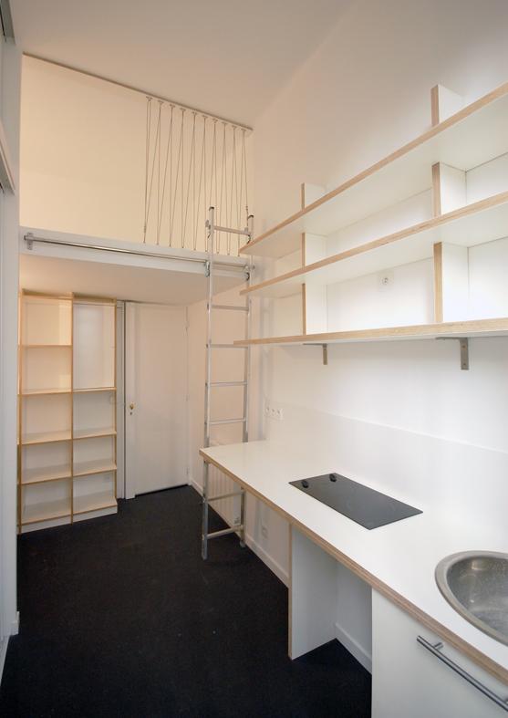 chambre de service de 10 m²
