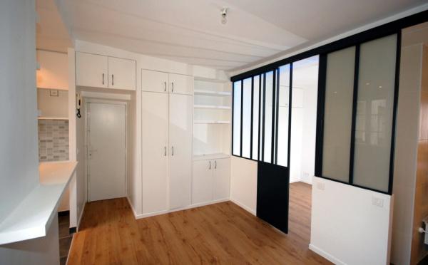 Studio d 39 archi r novation d 39 appartements paris - Amenagement appartement petite surface ...