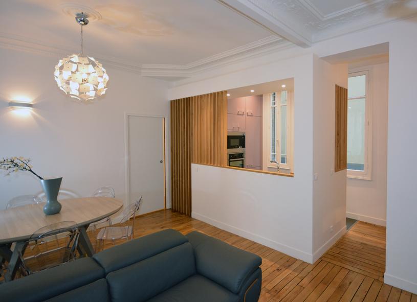 Un grand 3 pièces de 65 m²