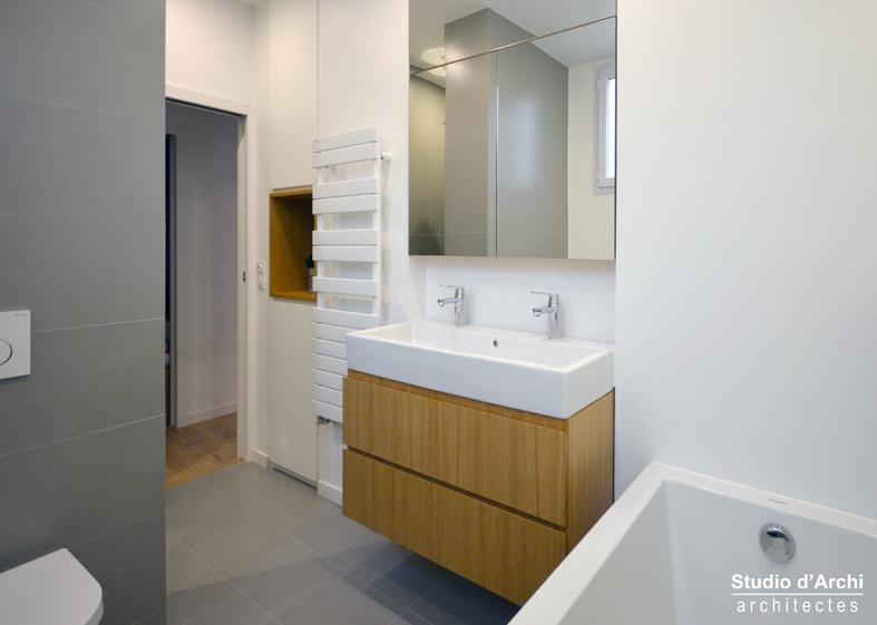 Un appartement familial de 76 m²