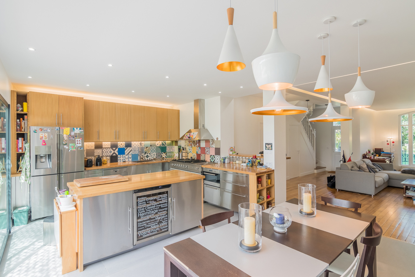 202 m² : Extension d'une meulière