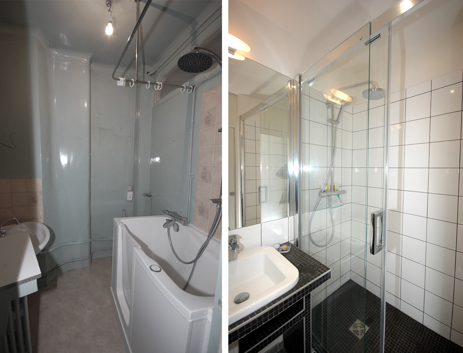 67 m² à optimiser - Les photos avant-après
