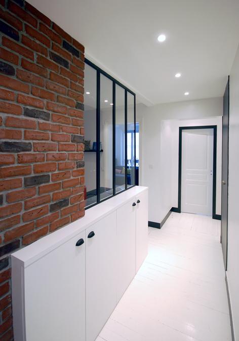 Réunir deux appartements de 45 m²