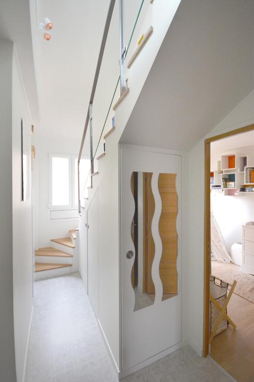 doubler la surface avec les combles. Black Bedroom Furniture Sets. Home Design Ideas