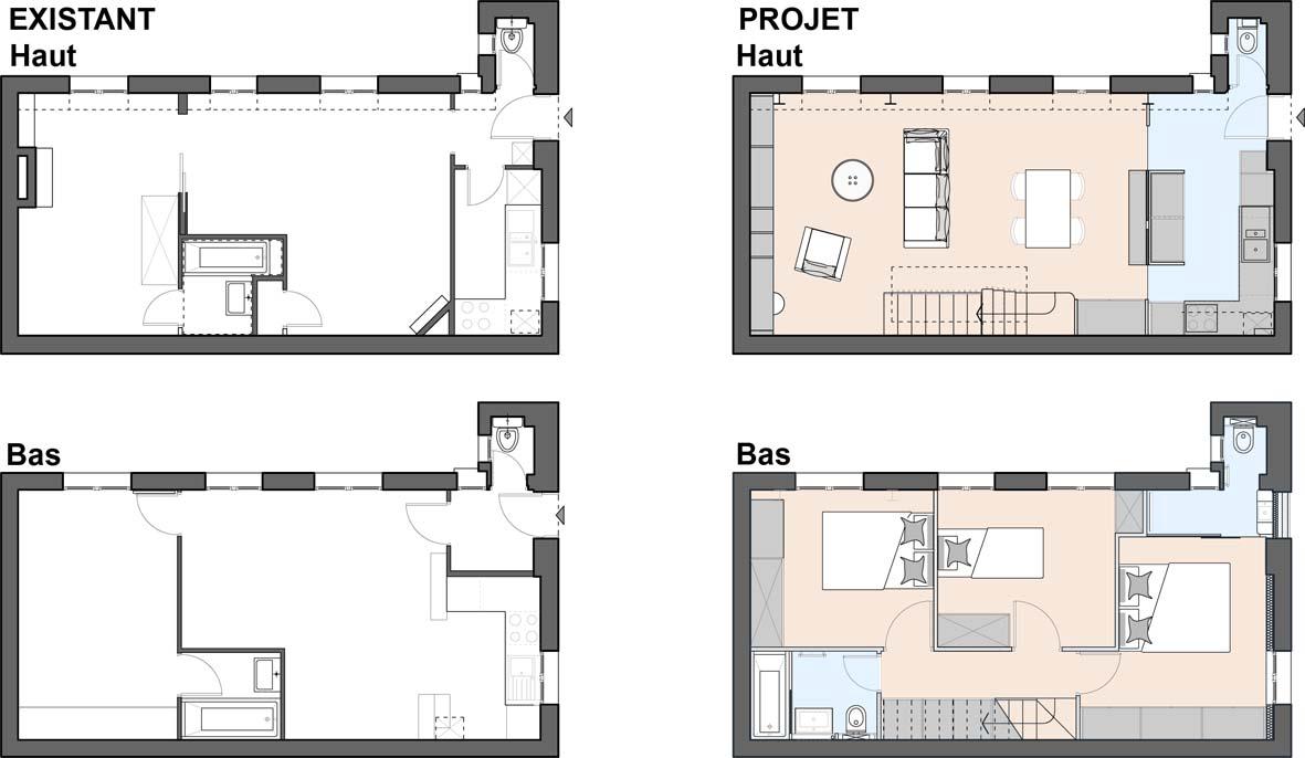 A Paris: un duplex avec terrasse
