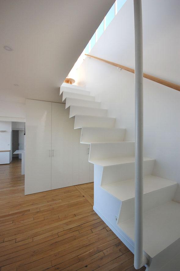 Double hauteur et mezzanine.
