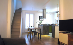 Création d'un duplex de 53 m²