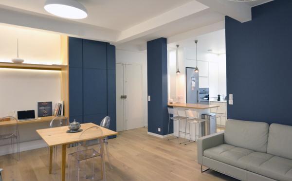 Situé à saint mandé cet appartement de 76 m² se situe au premier étage dun bel immeuble des années 1930 son organisation est à revoir ses
